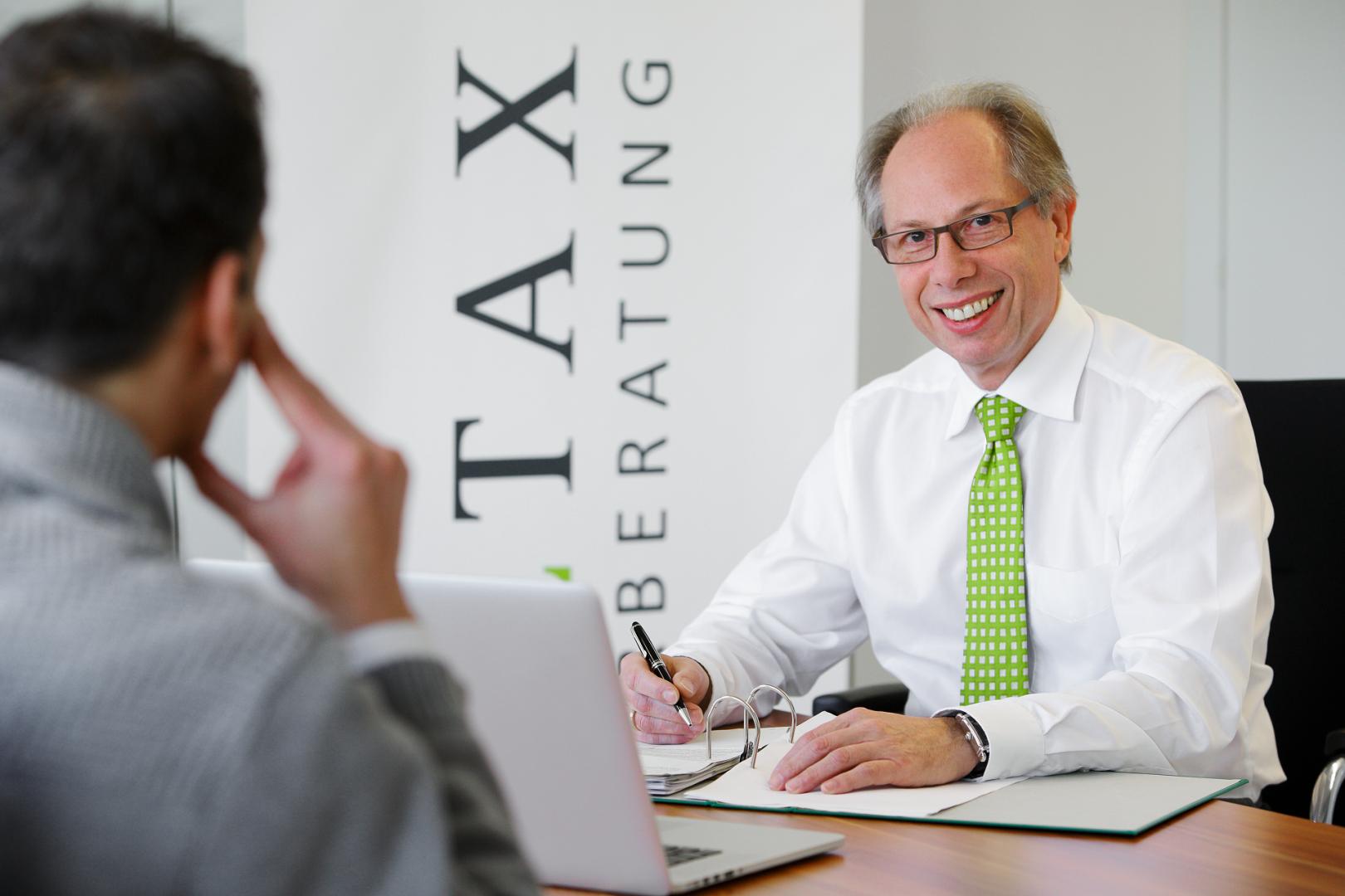 Beratungsgespräch Woltax Steuerberatung